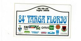 ADESIVO STICKER 91 TARGA FLORIO RALLY 2007 RRR MAXI 9X18 - Adesivi