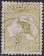 Australia    .   SG  .    5    .    O      .    Cancelled    .   /    .   Gebruikt - 1913-48 Kangaroos