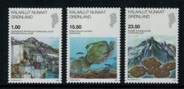 Groenland 2009 // Sciences Timbres Neuf ** MNH No.523-524-525 Y&T - Neufs