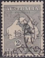 Australia    .   SG    .     35          .    O      .    Cancelled    .   /    .   Gebruikt - 1913-48 Kangaroos