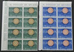 ITALIA EUROPA UNITA .Serie Completta Di 16Valori .MNH**(PAG.76/6 - Europa-CEPT