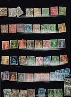 Lot Suisse Anciens Timbres à Identifier. 2 Scans. - Postzegels