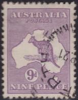 Australia    .   SG    .     39          .    O      .    Cancelled    .   /    .   Gebruikt - 1913-48 Kangaroos