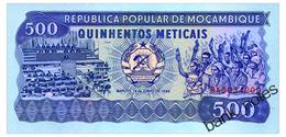 MOZAMBIQUE 500 METICAIS 1989 Pick 131c Unc - Mozambique