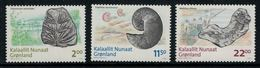 Groenland 2009 // Fossiles Timbres Neufs ** MNH No.510-511-512 Y&T - Neufs