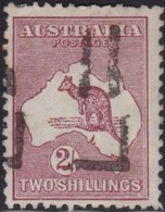 Australia    .   SG    .     110          .    O      .    Cancelled    .   /    .   Gebruikt - 1913-48 Kangaroos