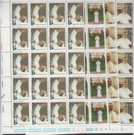 Vatican City 1978 Pope John Paul I 4v Complete Sheetlets With Full Margins (shtlts Are 1x Folded) ** Mnh (F7723) - Ongebruikt