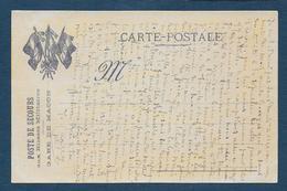 Carte FM - Poste De Secours Aux Blessés Militaires - Gare De Macon - Cartes De Franchise Militaire