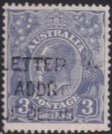 Australia    .   SG    .     100         .    O      .    Cancelled    .   /    .   Gebruikt - 1913-36 George V : Hoofden