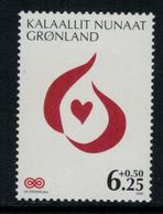 Groenland 2009 // Lutte Contre Le Cancer Timbre Neuf ** MNH No.509 Y&T - Neufs