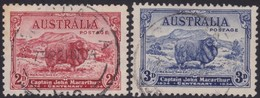 Australia    .   SG    .     150/151         .    O      .    Cancelled    .   /    .   Gebruikt - 1913-36 George V : Andere
