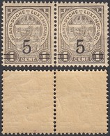 Luxembourg 1916 - Timbres Neuf Sans Charnière. Pri Fix Nr. 111 A -Curiositée (EB) DC-2846 - Luxembourg