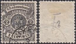 Luxembourg 1875 - Timbre Obliteré.  Pri Fix Nr. 27 -Curiositée (EB) DC-2847 - Luxembourg