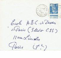 DAGUIN LABLACHERE     J86 - Marcofilie (Brieven)