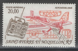SPM - Saint-Pierre-et-Miquelon - YT PA 71 ** - 1992 - Aéromodélisme - Poste Aérienne