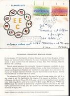 1973 - IRLANDA - Ingresso Nella Comunità Economica Europea - BUSTA FDC. - FDC