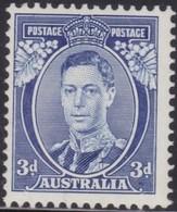 Australia    .   SG  .    168  Die I    .    *  .     Mint-hinged    .   /    .   Ongebruikt - 1937-52 George VI