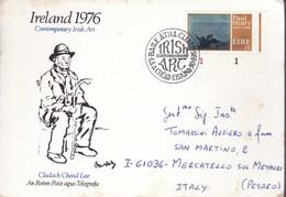 1976 - IRLANDA - Irish Art By Paul Henry - BUSTA FDC. - FDC