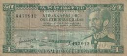 1 DOLLAR 1966 - Ethiopia