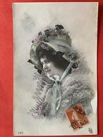 1910 - VROUW MET HOED EN PELS - FEMME - CHAPEAU - FOURRURE - Femmes