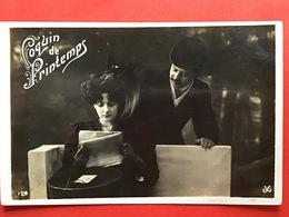 1909 - COQUIN DE PRINTEMPS - ONDEUGENDE LENTE - Couples