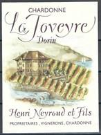 Etiquette De Vin Du Canton De Vaud  * Chardonne - La Toveyre  * - Etiquettes