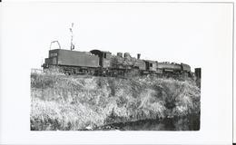 Photo - Locomotive à Vesoul En  En 1955 - Thème Chemin De Fer - Train   - - Trains