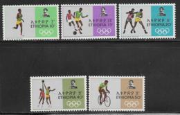 Ethiopia Scott # 510-14 MNH Olympics,1968 - Ethiopia