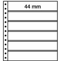 LEUCHTTURM R-Tafeln, 6er Einteilung 248 X 44 Mm, Schwarz, 5er Pack - Briefmarken