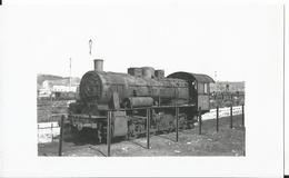 Photo - Locomotive 040 D 152 à Langres En 1956  - Thème Chemin De Fer - Train   - - Trains