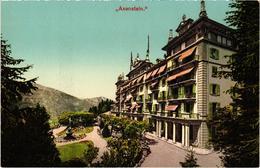 SUISSE - AXENSTEIN - Grand Hôtel - Plan Rare - - SZ Schwyz