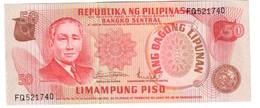 Philippines 50 Pesos 1978 Pick 163A UNC .C4. - Filippine