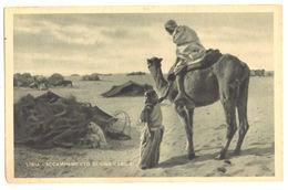LIBIA - ACCAMPAMENTO DI UNA CABILA --- E0690 - Libia