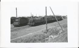 Photo - Reding  En 1956  - Moselle 57 - Locomotive   - Thème Chemin De Fer - Train   - - Trains