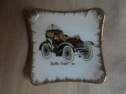 """Vintage - Mini Assiette De Collection En Porcelaine """"Rolls Royce 1903"""" - Céramiques"""