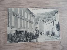 CPA 07 Ardèche Largentiere Avenue De La Gare  BE - Largentiere