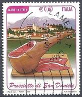 Italia, 2009 Prosciutto Di San Daniele 0.60 € # Sassone 3099 - Michel 3308 - Scott 2939 USATO - 6. 1946-.. Repubblica