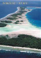 1 AK Tokelau Islands * Atoll Atafu - Luftbildaufnahme - Atafu Das Kleinste Und Nördlichste Der Drei Atolle Von Tokelau * - Postcards