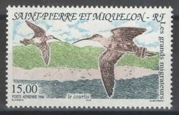 SPM - Saint-Pierre-et-Miquelon - YT PA 75 ** - 1996 - Oiseaux - Birds - Poste Aérienne