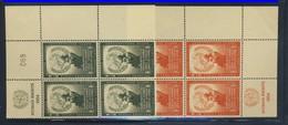 ONU 1954 BLOC DE 4 DROITS DE L'HOMME  YVERT N°29/30  NEUF MNH** - Ungebraucht