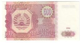 Tajikistan 500 Rubles 1994 UNC .C4. - Turkmenistan