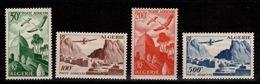 Algerie - YV PA 9 à 12 N** Complète Cote 50+ Euros - Algeria (1924-1962)