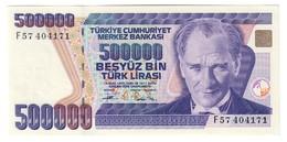 Turkey 500000 Lirasi 1993 UNC .C4. - Turquie