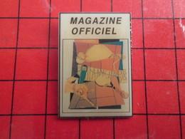 413A Pin's Pins / Beau Et Rare / THEME : TENNIS / MAGAZINE OFFICIEL ROLAND GARROS 98 - Tennis