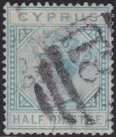 Cyprus  .   SG  .   11         .     O     .    Cancelled    .   /    .    Gebruikt - Zypern (...-1960)