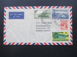 Papua & New Guinea Beleg 1950 / 60er Jahre Wm Breckwoldt & Co. Rabaul Nach Dannenberg Elbe - Papua-Neuguinea