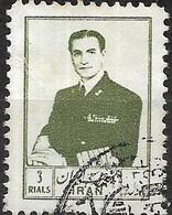 1954 Sh Ah In Military Uniform - 3r - Green FU - Iran
