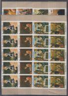 P236. 5x Fujeira - MNH - Art - Paintings - Imperf - Arts