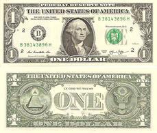 USA  1 Dollar   2013  UNC - Biljetten Van De  Federal Reserve (1928-...)
