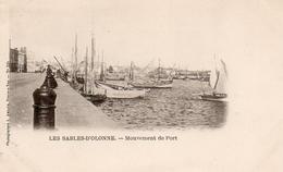 CPA 85 Vendée Les Sables D'Olonne Mouvement Du Port N° 339 - Sables D'Olonne